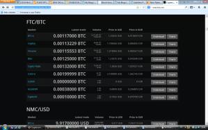 cryptocoincharts precios de exchanges