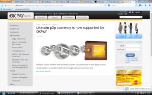 OkPay acepta Litecoins