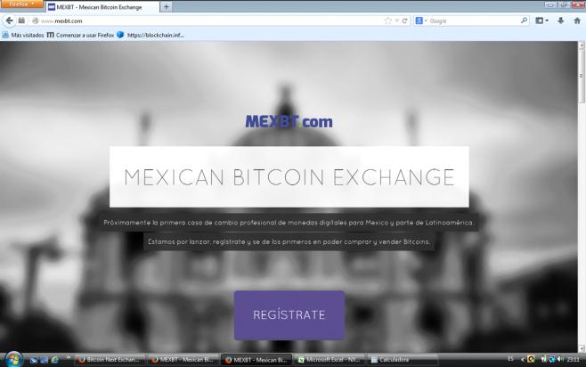 MEXBT Exchange Mejicano
