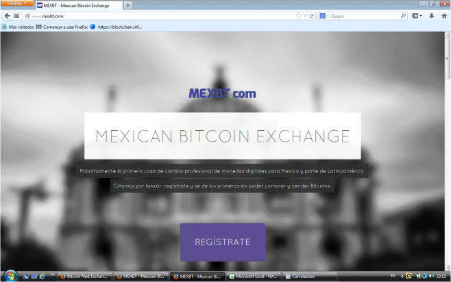 MEXBT Exchange Mejicano