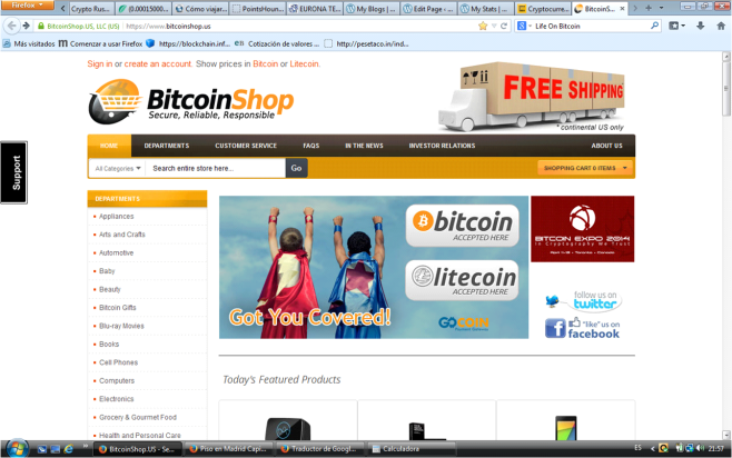 BitcoinShop