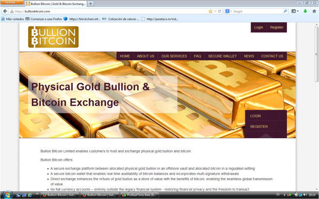 Gold to Bitcoin