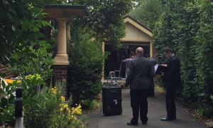 Imágenes del registro en la casa de Craig Steven Wright. Reuters