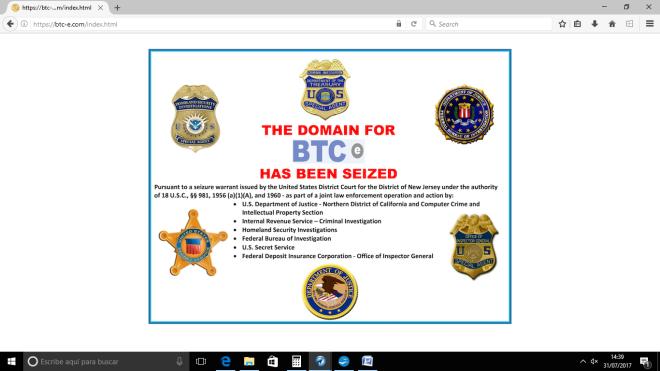 btc-e seized